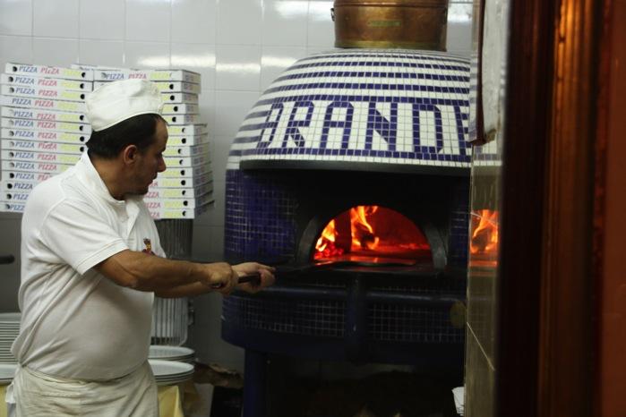 ブランディのピザ釜