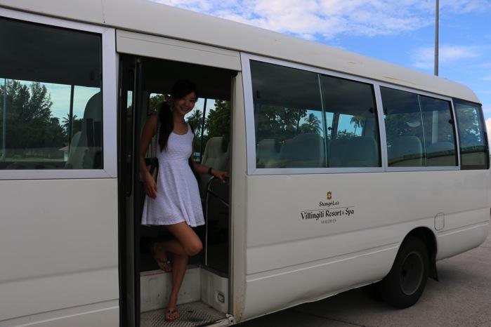 シャングリラのバス