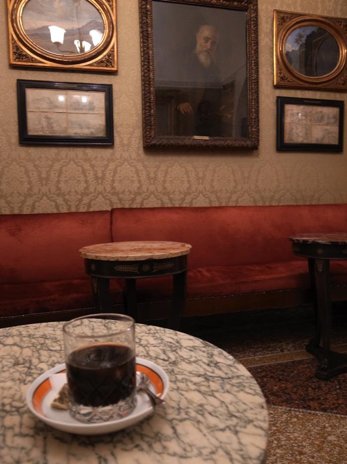 ローマのカフェ・グレコ