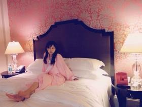 ロイヤルハワイアンのベッドルーム