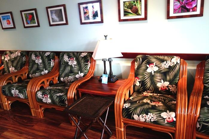 ハワイ空港 IASS lounge