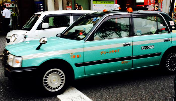 グリーンキャブ タクシー マイル