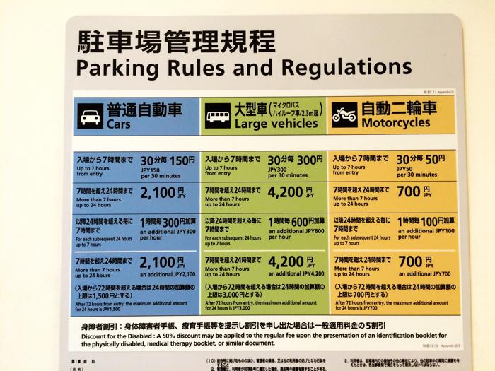 羽田空港 国際線 駐車場 料金