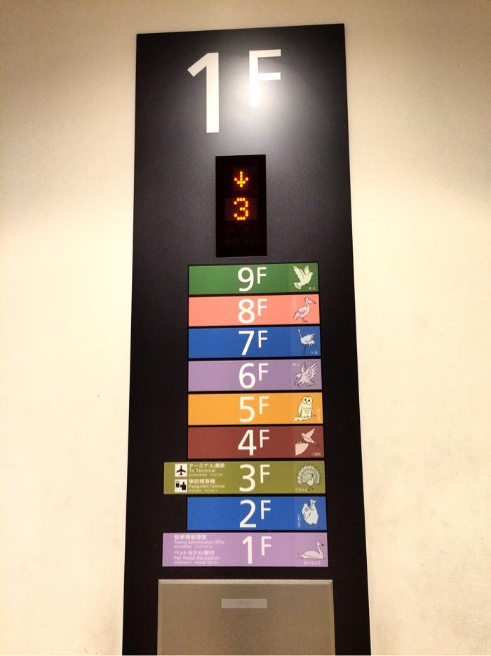 羽田空港 駐車場 カート