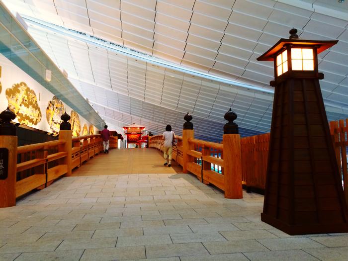 羽田空港 国際線ターミナルの日本橋