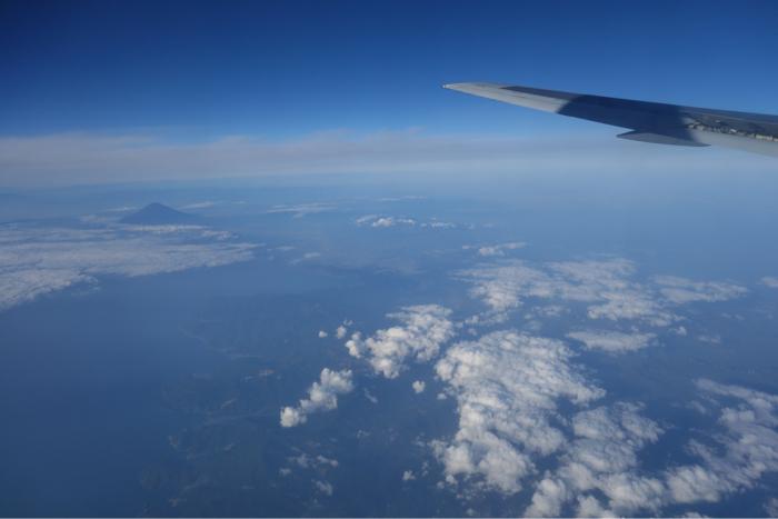 JAL国内線 富士山
