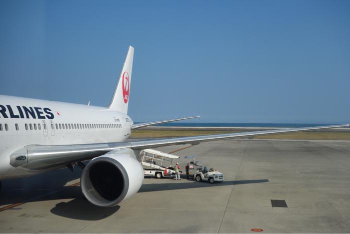 日本航空 国内線 大分空港