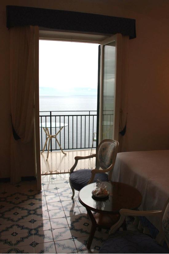 アマルフィのホテル サンタカテリーナの部屋