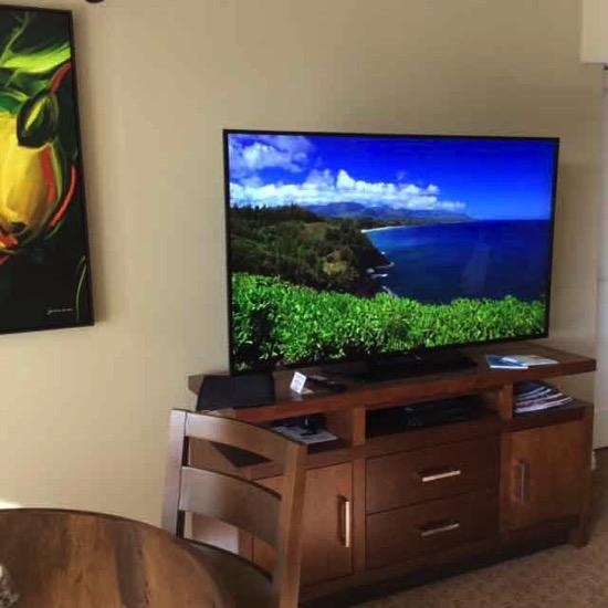 ハワイ・ホテルのテレビ