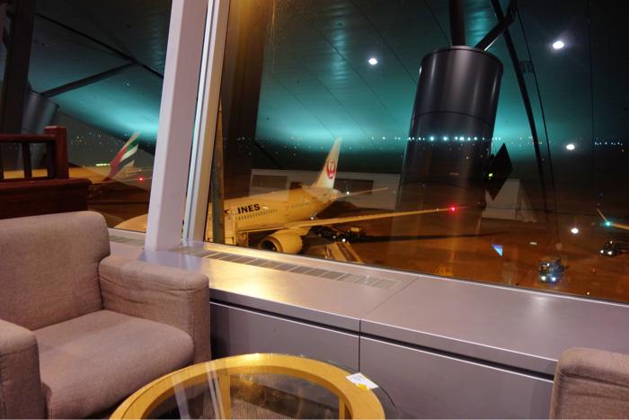 バンブーラウンジ JAL ベトナム空港