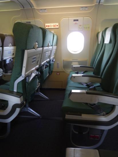ANA機内 座席