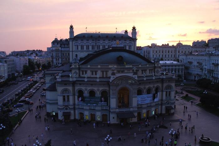 ウクライナ国立歌劇場 オープン