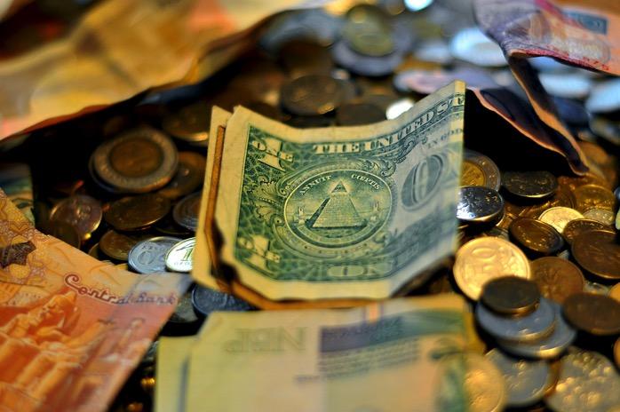ドルの両替