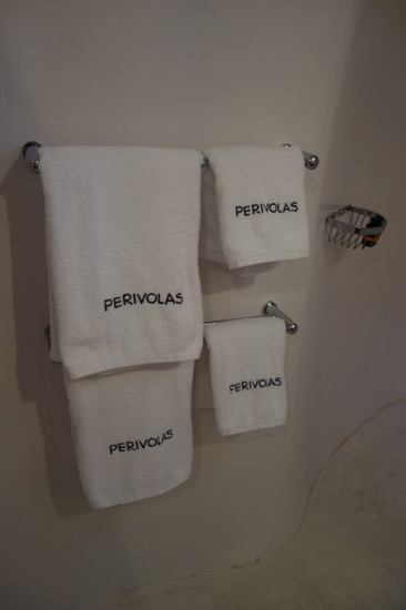 ペリヴォラスのタオル