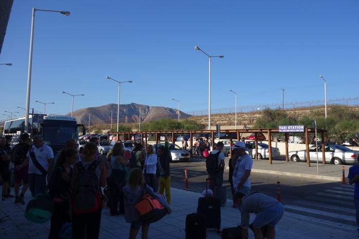 サントリーニ空港 送迎