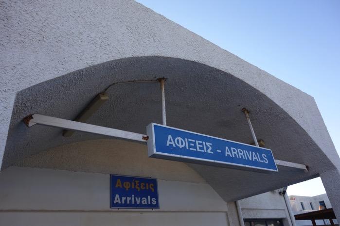 サントリーニ 空港