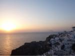 サントリーニの夕日