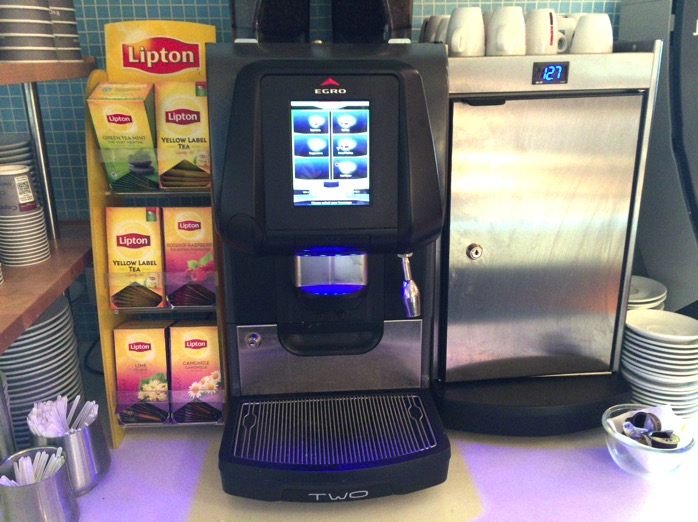 リプトンの紅茶とコーヒー