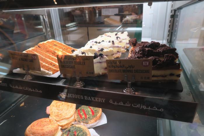 ドバイスタバのケーキ
